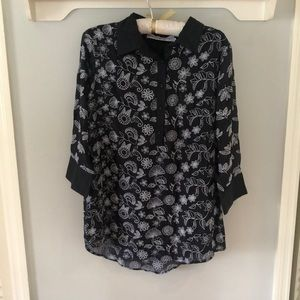 NWOT Ladies Gretchen Scott Button Up Tunic